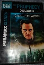 The Prophecy 5 Film Set (2 Discs) Christopher Walken Dvd pre owned good cond