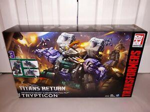 Trypticon G1 Titans Return Transformers SEALED MISP! Hasbro 2016 Full-Tilt Necro