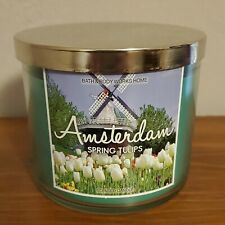 "Bath & Body Works ""Amsterdam SPRING TULIPS"" scented candle, $22.50, NEW!"