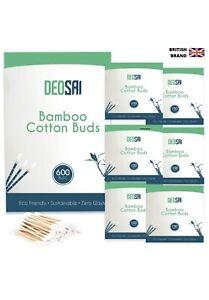 Deosai 600 Premium Bamboo Cotton Buds