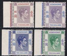 Hong Kong 1937-50 KGVI Top Values Imprint Margin Gummed Reproduction Stamp sv