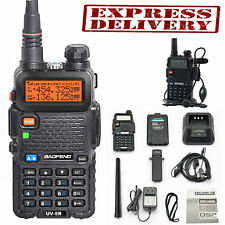 Police Fire Radio Two Way Scanner Transceiver Handheld Portable F-Antenna HAM US