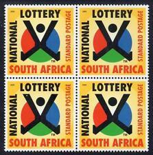 Afrique du sud neuf sans charnière 2000 1st loterie nationale bloc de 4