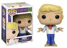 Pop Animation 153 Scooby Doo Fred Vinyl Figure From Funko