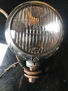 """1939 40 41 42 46 47 48 49 50 PACKARD CM HALL LAMP CO. FOG LIGHT 4"""" NICE!"""