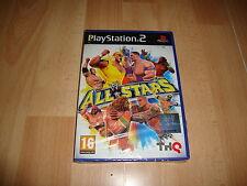 WWE ALL STARS EDICION DEL AÑO 2011 DE THQ PARA LA SONY PS2 NUEVO PRECINTADO