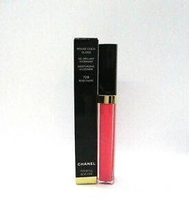 Chanel Rouge Coco Gloss Moisturizing Glossimer ~ 728 Rose Pulpe ~ 5.5 g /BNIB