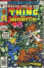 Marvel Two-In-One Comic Book #32 The Thing & Invisible Girl Marvel 1977 Fine