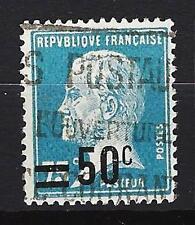 France 1926 timbre surchargée Yvert n° 219 oblitéré 1er choix (1)