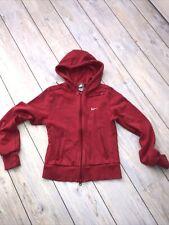 Top Designer Nike Pink Hoodie Coat Jacket Age 12-13 Girls Gym Sports Yoga 6-8 Sm