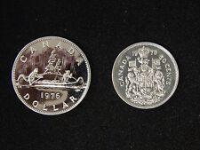1976 Canada Voyager Dollar & Half Dollar - Proof