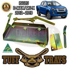 Tuff Trays Dual Battery Tray fits ISUZU DMAX 2nd Gen M-UX MUX 2012-ON Diesel