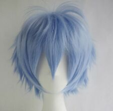 Straight Short Hair Wig Cosplay Wig Party Anime Full Wig Colorful Synthetic Hair