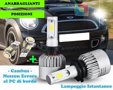 LAMPADE ABBAGLIANTI ANABBAGLIANTI + POSIZIONI LED MINI CLUBMAN R55 07-15 CREE