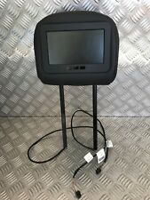 Appui tête cuir noir écran LCD - RENAULT ESPACE IV (4) Phase III (3)