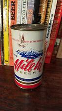 Mile Hi Premium 12oz Flat Top Beer Can  High Grade Bottom Opened