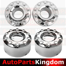 05-17 Ford Super Duty DUALLY Chrome 1 Set Front+Rear 10 Lug Wheel Center Hub Cap