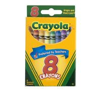 Crayola Crayons 8 ea (Pack of 3)