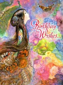 PAINTED LADY - A JOSEPHINE WALL BIRTHDAY CARD