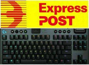 Express Logitech G915 TKL Lightspeed Wireless RGB Gaming Keyboard GL Tactile NEW