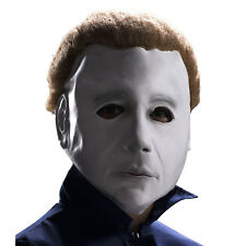 Kids Child Halloween Michael Myers Mask with Wig by Rubie's Costumes