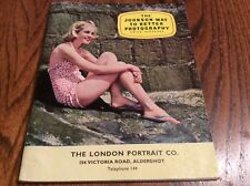 The Johnson Way to Better Photography, The London Portrait Co, Nice Clean Cond