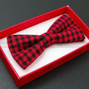 Boy's Straigt Cut Solid Pre-tied Bow tie Kid's Bowtie Wedding Party Formal