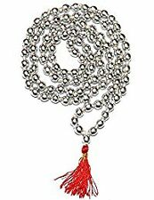 ReBuy 100% Original Mercury / Parad rosary Mala 108 + 1 = 109 beads( 5 M.M )