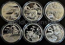 6oz.*PROOF*.999 Silver Coins*Silverbug,Kraken,Mermaid,Whirlpool,Leviathan,End Of