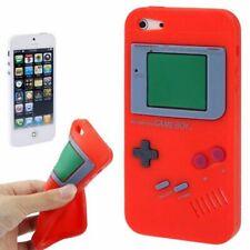 Handy Hülle Schutz Case Cover Schale Game Boy für Apple iPhone SE Rot Neu