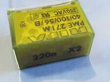 2 Stück - RIFA PME271M 220nF x2 275V~ Entstörkondensator 0,22µF RM20,3 - 2pcs