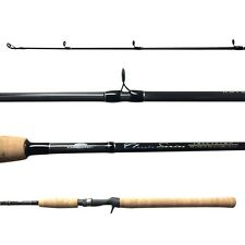 "Tsunami Classic 3pc Travel Rod Saltwater SPINNING Striper 7'6"" TSCS-763H Heavy"