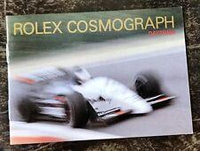 Rolex Cosmograph Daytona Zenith 1991 VINTAGE LIBRETTO acciaio 16528 16520 16523 OEM
