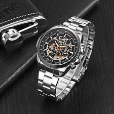 WINNER TM428 Reloj de hombre Relojes mecánico automático ahuecado de moda T3R1