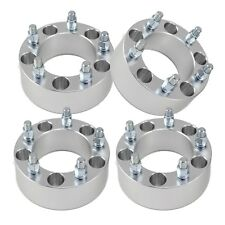 "(4) 2"" | 5x5.5 to 5x5.5 Wheel Spacers Adapters | 12x1.25 Studs for Geo & Suzuki"