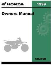 Honda 1999 CR250R Owner Manual 99