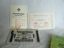 Jeu AUTO BRIDGE Vintage Cartes