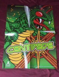 "Centipede Atari Video Game Poster - 18"" x 24"""