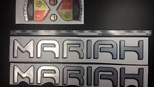 "MARIAH boat emblem stickers 22"" - 56.46 cm"