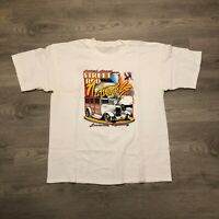 Vintage 1999 Street Rod Nationals NSRA Mens Double Sided Graphic T Shirt Size XL