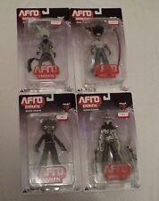 DC Unlimited Afro Samurai Set of 4 Figures: Kuma, Afro, Ninja Ninja, Justice