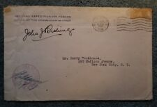 "John Joseph ""Black Jack"" Pershing signed Autographed envelope dated 1919"