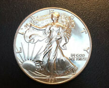1991 $1 90% Silver Cem Uncirculated.