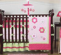 Flower Room Collection Baby Crib Bedding Set for Newborn Girl Sweet Jojo Designs