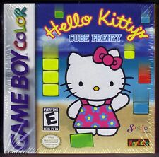 GBC Hello Kitty Cube frenesia (1999) Nuovo di Zecca & Nintendo SIGILLATO in fabbrica