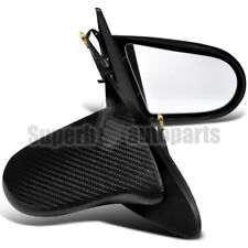 2002-2006 Acura Rsx DC5 Real Carbon Fiber CF Power Side Mirrors