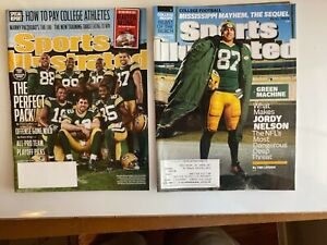 Jordy Nelson, Green Bay Packers 2 Sports Illustrated magazines