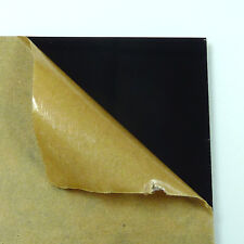 Acrylic Plexigrass Plastic Sheet  Glossy Black A4 size 3mm