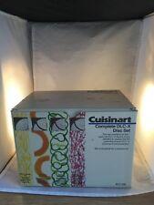 Cuisinart Complete DLC-X 7 Disc Set- 7 in Box