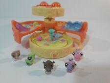 Littlest Pet Shop Teeniest Tiniest Butterfly Playset 5 Pets Caterpillar Dog